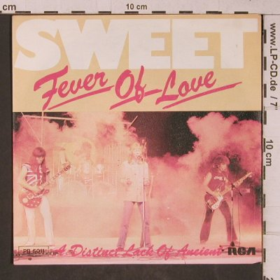 Sweet: Fever Of Love, RCA(PB 5011), D, 1977 - 7inch - T5328 - 3,00 Euro