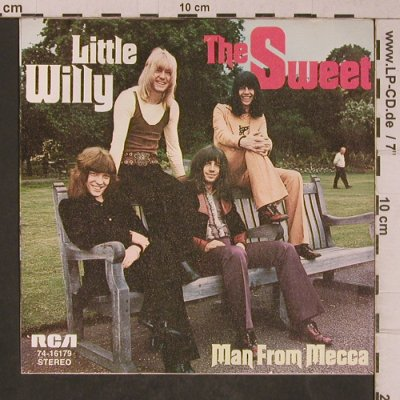Sweet: Little Willy / Man From Mecca, RCA(74-16 179), D,  - 7inch - T5340 - 3,00 Euro