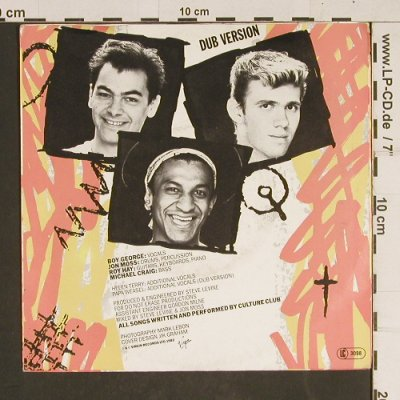 Culture Club: Do You Really Want To Heart Me*2, Virgin(104 708-100), D, 1982 - 7inch - T536 - 2,50 Euro