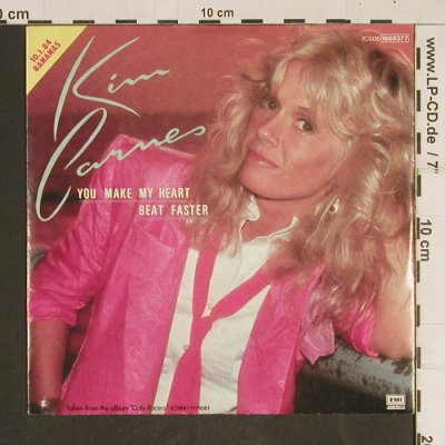Carnes,Kim: You Make My Heart Beat Faster, EMI(0061868377), D, 1983 - 7inch - T539 - 2,50 Euro