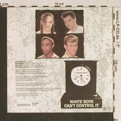 Culture Club: Time / White Boys Can't Control It, Virgin(104 936-100), D, 1982 - 7inch - T542 - 2,00 Euro