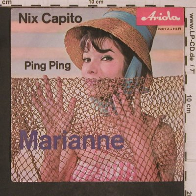 Ping Ping: Nix Capito / Marianne, m-/vg+, stol, Ariola(45 079 A), D,  - 7inch - T5447 - 2,50 Euro