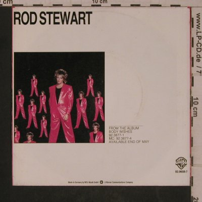 Stewart,Rod: Baby Jane/Ready Now, WB(92-9608-7 N), D, 1983 - 7inch - T5467 - 5,00 Euro