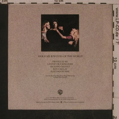 Fleetwood Mac: Hold Me / Eyes Of The World, WB(WB 17 965-N), D, 1982 - 7inch - T5469 - 3,00 Euro