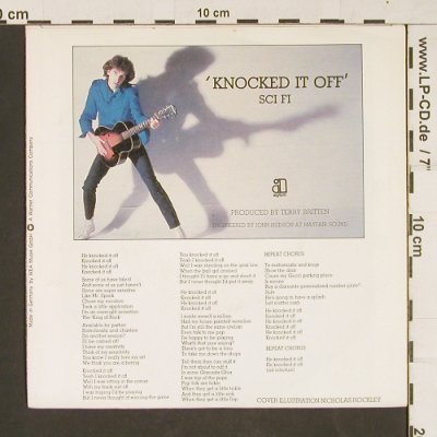 Robertson,B.A.: Knocked it off, Asylum(AS 12 396), D, 1979 - 7inch - T5 - 2,50 Euro