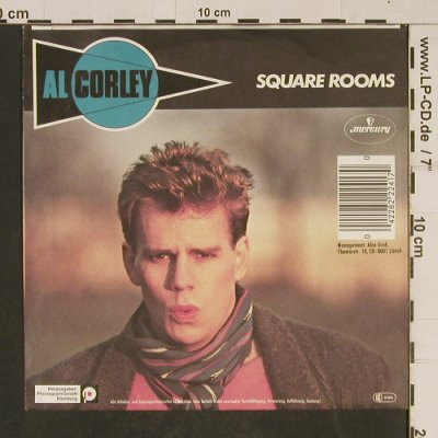 Corley,Al: Square Rooms/Don't play with me, Phonogram(822 241-7Q), D, 1984 - 7inch - T609 - 2,00 Euro