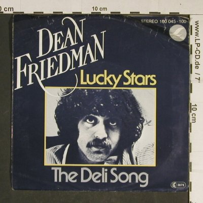 Friedman,Dean: Lucky Star / The Deli Song, m-/VG-, Lifesong(100 045-100), D, 1978 - 7inch - T741 - 3,00 Euro