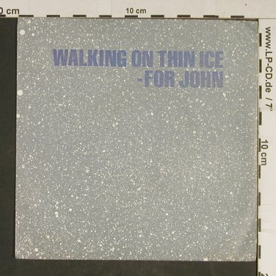 Ono,Yoko: Walking On Thin Ice / It Happened, Geffen(GEF 79202), D, 1981 - 7inch - T745 - 4,00 Euro