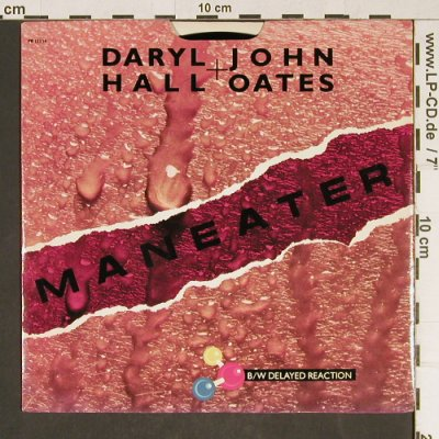 Hall,Daryl & John Oates: Maneater, RCA(PB 13354), US, 1982 - 7inch - T956 - 2,00 Euro