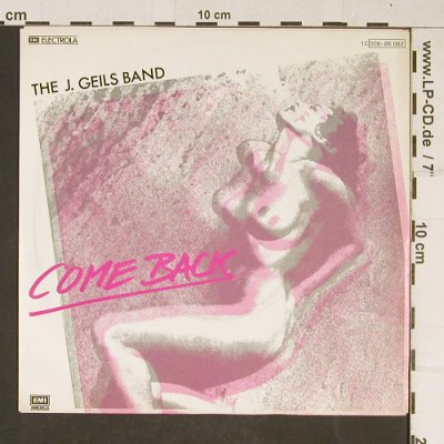 Geils Band,J.: Come Back, EMI(006-86 082), D, 1980 - 7inch - T960 - 3,00 Euro