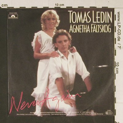 Ledin,Thomas & Fältskog,Agnetha: Never Again / Just for the Fun, Polydor(2002 185), D, 1982 - 7inch - T985 - 2,50 Euro