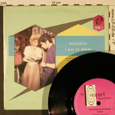 Wilson,Mari: Wonderful + I May Be Wrong, Compact(Pink 7), UK, 1983 - 7inch - T990 - 2,50 Euro