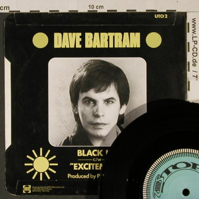 Bartram,Dave: Black Ice/Excitement, Utopia(UTO 2), UK, 1983 - 7inch - T997 - 2,50 Euro