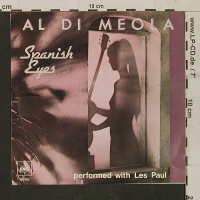 di Meola,Al: Spanish Eyes / Two to Tango, CBS(CBS 8946), NL, 1980 - 7inch - T1687 - 3,00 Euro