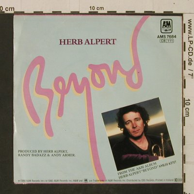 Alpert,Herb: Beyond / Keep It Going, m-/vg+, AM(AMS 7684), D, 1980 - 7inch - T2629 - 2,00 Euro