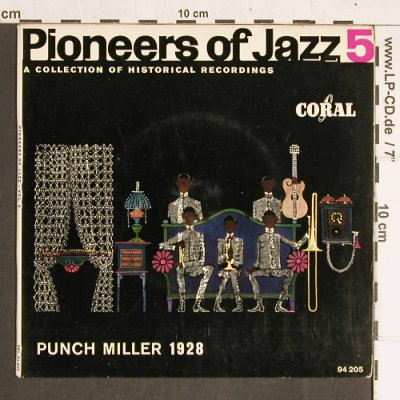 Punch Miller: Pioneers of Jazz  5 - 1928, Coral(94 205 EPC), D,  - EP - T4211 - 5,00 Euro