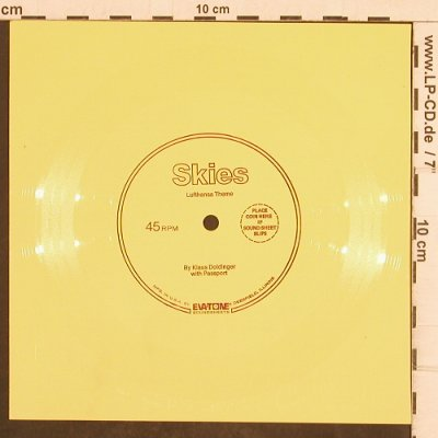 Doldinger,Klaus  with Passport: Skies-one sided Flexi, EVA Tone/Lufthansa(EV214744T), US,  - 7inch - T4952 - 7,50 Euro