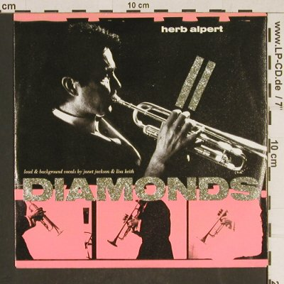 Alpert,Herb: Diamonds / African Flame(edit), AM(390 203-7), D, 1987 - 7inch - T553 - 2,00 Euro