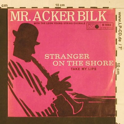 Mr. Acker Bilk: Stranger on the Shore, Metronome(B 1492), D,  - 7inch - S9796 - 3,00 Euro
