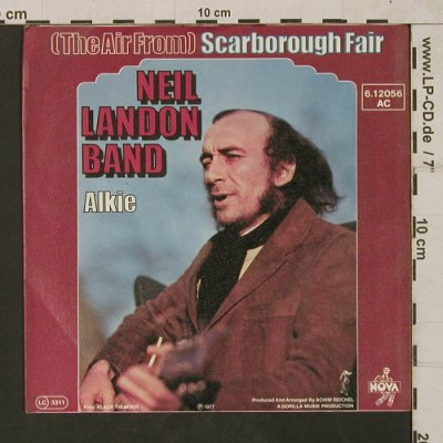 Landon,Neil: (The Air From)ScarboroughFair/Alkie, Nova(6.12056 AC), D, 1977 - 7inch - T1782 - 4,00 Euro