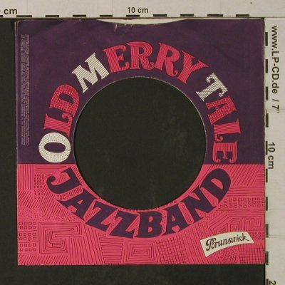Old Merry Tale Jazzband: Lochcover-Lila,rot,weiß - Cover, Brunswick(), D, vg+,  - Cover - T2064 - 1,50 Euro