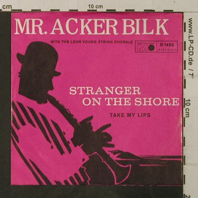 Acker Bilk,Mr.: Stranger On The Shore/Take my Lips, Metronome(B 1492), D,vg+/m-,  - 7inch - T3880 - 3,00 Euro