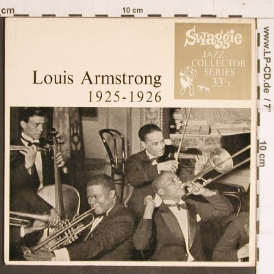 Armstrong,Louis: 1925-1926, 33rpm,6Tr. vg+/m-, Swaggie Rec.(JCS-33740), Australia,  - EP - T4233 - 4,00 Euro