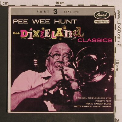 Pee Wee Hunt: Origin.Dixieland One Step,vg+/m-, Capitol, Part 3(EAP 3-573), US,  - EP - T5019 - 3,00 Euro