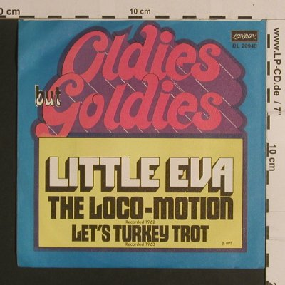 Little Eva: The Loco-Motion/Let's Turkey Trot, Decca(DL 20 940), D, Ri, 1972 - 7inch - S7895 - 2,50 Euro