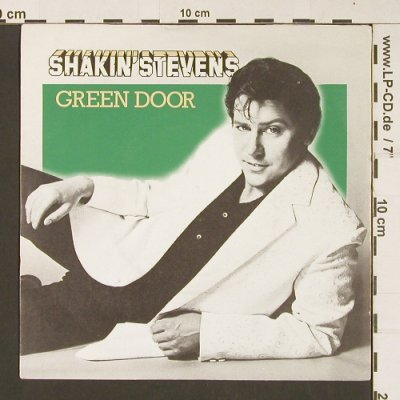 Shakin'Stevens: Green Door/Don't Turn Your Back, Epic(EPC A 1354), UK, 1981 - 7inch - S8920 - 3,00 Euro