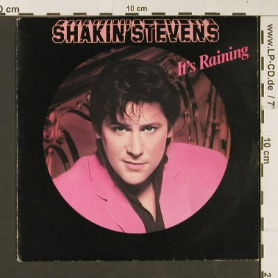 Shakin'Stevens: It's Raining/You And I Were Meant T, Epic(A1643), NL, 1981 - 7inch - S9239 - 3,00 Euro