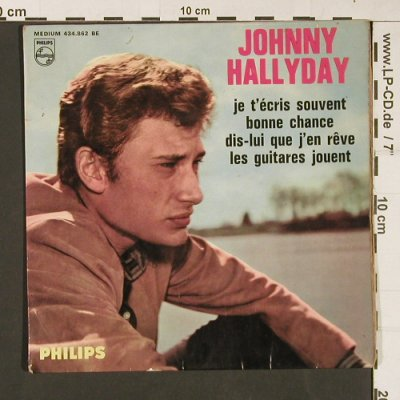 Hallyday,Johnny: Same(15 Serie), --/ vg, EP-cover, Philips(434.862 BE), F,  - Cover - S9279 - 4,00 Euro