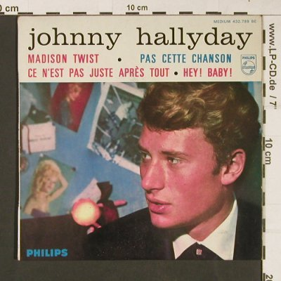 Hallyday,Johnny: Same(7 Series), vg-/m-, bad cond., Philips(432.799 BE), F,  - EP - S9280 - 9,00 Euro
