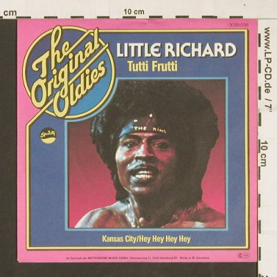 Little Richard: Tutti Frutti / Kansas City/HeyHey.., Metronome(0039.036), D, 1977 - 7inch - S9652 - 2,50 Euro