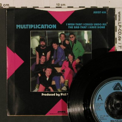 Showaddy Waddy: Multiplication / I Wish That I..., Arista(ARIST 416), UK, 1981 - 7inch - T2370 - 3,00 Euro