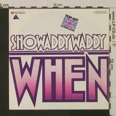 Showaddy Waddy: When / Superstar, Arista/EMI(006-98 764), D, 1977 - 7inch - T2526 - 2,50 Euro