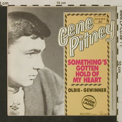 Pitney,Gene: Something's Gotten Hold Of My Heart, Strand(6.13165 AC), D, 1981 - 7inch - T3122 - 2,00 Euro