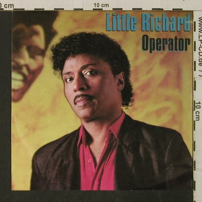 Little Richard: Operator/Big House Reunion, WEA(248 558-7), D, co, 1986 - 7inch - T3170 - 3,00 Euro