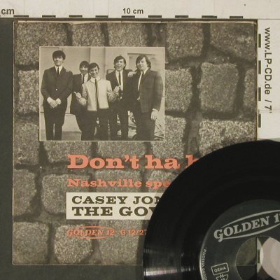 Jones,Casey: Don't Ha Ha / Nashville Special, Golden 12(G12/27), D,VG+/vg+, 1972 - 7inch - T4038 - 4,00 Euro