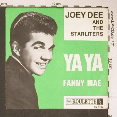 Dee,Joey & The Starliters: YA YA / Fanny Mae,VG-/vg+,stol,wol, Roulette(RL 4402), D,  - Cover - T4167 - 4,00 Euro