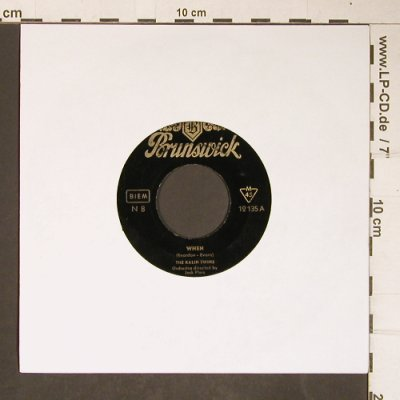 Kalin Twins,The: When / 3 O'Clock Thrill,m--/NoCover, Brunswick(12 135), D,  - 7inch - T4202 - 2,50 Euro