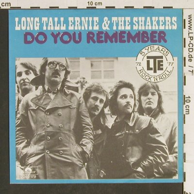 Long Tall Ernie & The Shakers: Do You Remember, Polydor(2040 179), D, 1977 - 7inch - T467 - 3,00 Euro