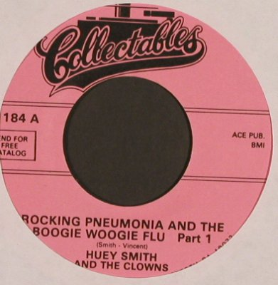 Smith,Huey  and the Clowns: Rocking Pneumonia..Boogie W...pt1&2, Collectables(C 1184), US, m-/--,  - 7inch - T4911 - 2,50 Euro