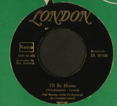 Boone,Pat: Tutti Frutti / I'll be Home, London(DL 20 036), D,vg+/vg+,  - 7inch - T600 - 4,00 Euro