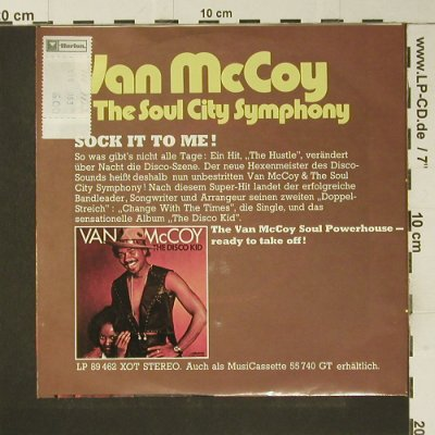 McCoy,Van: Change with the Times, Avco(16 382 AT), D, 1974 - 7inch - S7373 - 3,00 Euro
