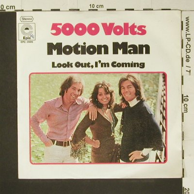 5000 Volts: Motion Man, woc, Epic(EPC 3926), D, 1975 - 7inch - S7398 - 2,00 Euro