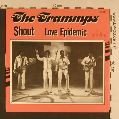 Trammps: Shout / Love Epidemic, BR Music(45098), D, 1974 - 7inch - S7602 - 2,50 Euro