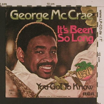 McCrae,George: It's been so long, RCA(26.11 285), D, 1973 - 7inch - S7797 - 2,00 Euro