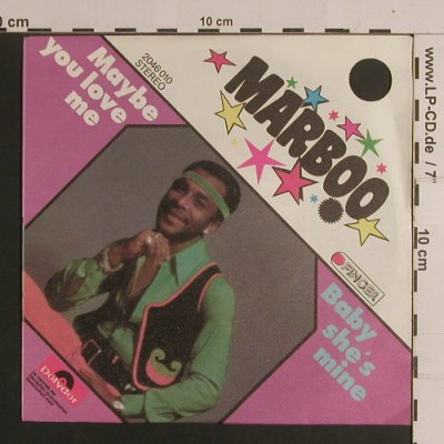 Marboo: Maybe you love me/Baby she's mine, Finger/Polydor(2046 010), D, CO, 1972 - 7inch - S7916 - 2,50 Euro
