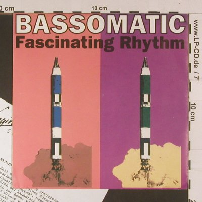 Bassomatic: Fascinating Rhythm*2, Virgin(VS 1274), D, 1990 - 7inch - S7992 - 2,50 Euro